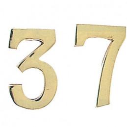 """NUMERO CIVICO IN OTTONE """"4""""..."""