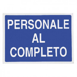 CARTELLO ALL. ^PERSONALE AL...