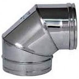 INOX CURVA 90° D.150