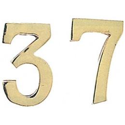 """NUMERO CIVICO IN OTTONE """"5""""..."""
