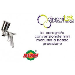 ASTURO AEROGRAFO MINI K3...